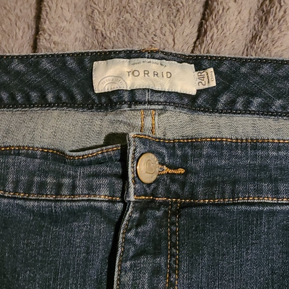 Relaxed fit jeans size 24R
